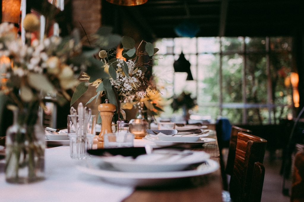 Tischdeko Hochzeitslocation Hadleys Hamburg